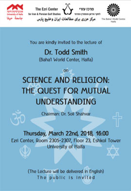 SCIENCE AND RELIGION: THE QUEST FOR MUTUAL UNDERSTANDING